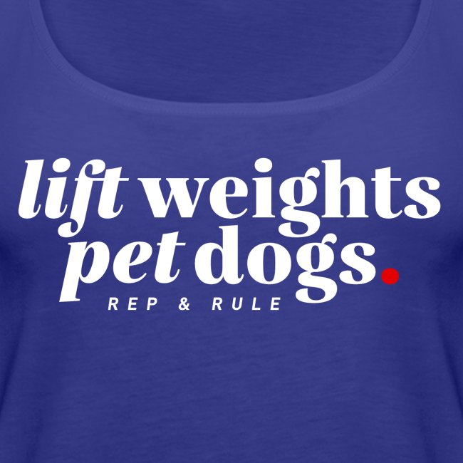 Lift Weights Pet Dogs