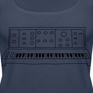 Analog-Synthesizer - Frauen Premium Tank Top