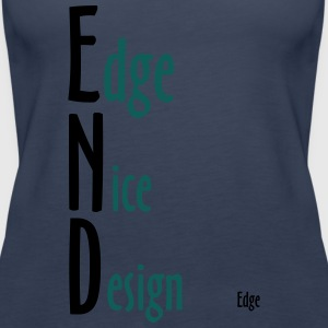 Edge_Nice_Design - Frauen Premium Tank Top