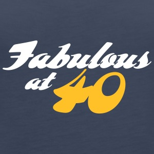 40 Years Old And Fabulous! - Women's Premium Tank Top