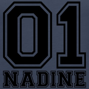 Nadine - Name - Women's Premium Tank Top