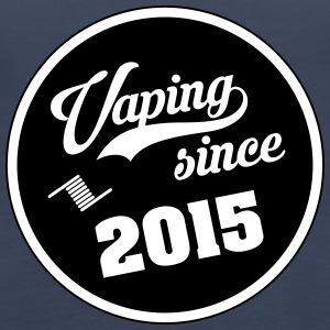 Vaping since 2015 - Women's Premium Tank Top