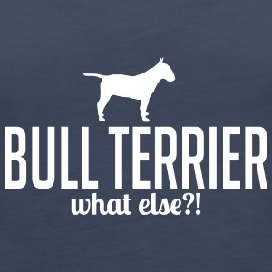 BULL TERRIER whatelse - Premium singlet for kvinner