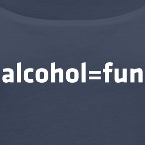 Alcohol Means Fun - Women's Premium Tank Top