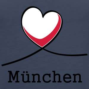 I love Munich! - Women's Premium Tank Top