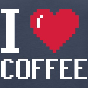 I Love Coffee - coffee - Women's Premium Tank Top