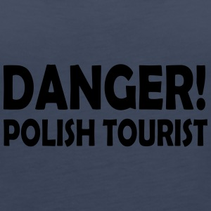 polish tourist - Tank top damski Premium