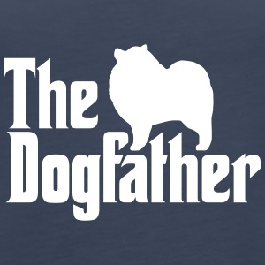 Keeshond Dogfather - Women's Premium Tank Top