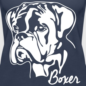 BOXER PORTRAIT - Women's Premium Tank Top