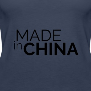 Made in China - Premiumtanktopp dam