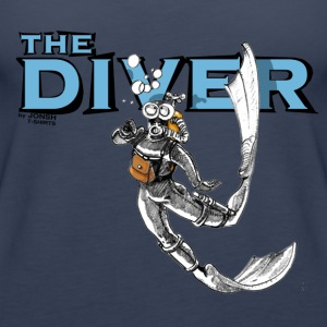 the_diver - Frauen Premium Tank Top