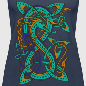 Celtic Dragon - Frauen Premium Tank Top