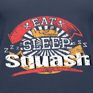 Eat Sleep Squash - Vrouwen Premium tank top