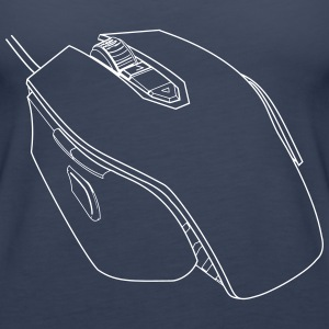Gaming Mouse - Premium singlet for kvinner