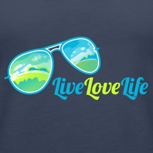 Live Love Life - Frauen Premium Tank Top