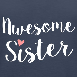 Awesome Sister - Vrouwen Premium tank top