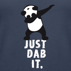 dab just panda dabbing dub dance cool LOL funny - Women's Premium Tank Top