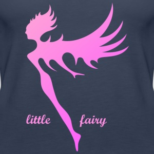 The small rosaviolette angel fairy - Women's Premium Tank Top