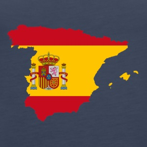 The shirt for Spaniards, Spain - Women's Premium Tank Top