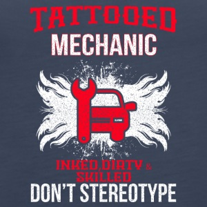TATTOOED MECHANIC - Frauen Premium Tank Top
