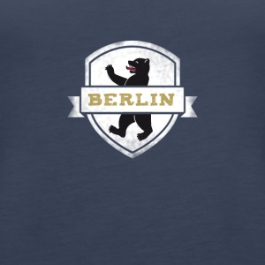 Berlin bear capital travel souvenir wall trip lo - Women's Premium Tank Top