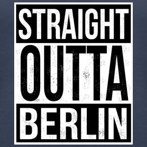 Straight Outta Berlin - Vrouwen Premium tank top