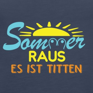 SOMMER FUN - Frauen Premium Tank Top