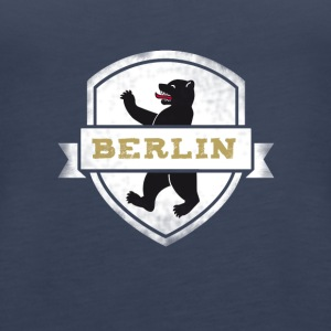 Berlin bear capital travel souvenir wall coat of arms - Women's Premium Tank Top