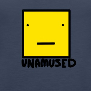 Unamused - Women's Premium Tank Top