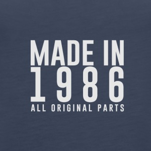 MADE IN 1986 - BIRTH YEAR - Women's Premium Tank Top