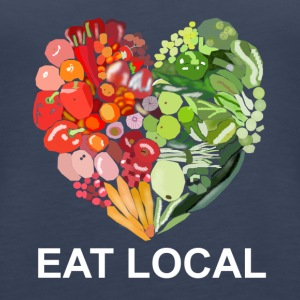 Eat local - Frauen Premium Tank Top