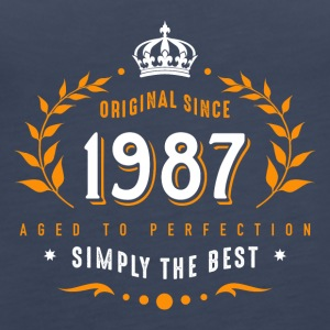 original since 1987 simply the best 30th birthday - Women's Premium Tank Top