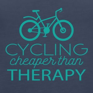 Cycling: Cycling - cheaper than Therapy - Women's Premium Tank Top