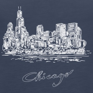 Chicago City - United States - Premium singlet for kvinner