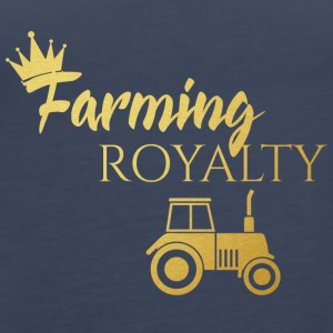 Farmer / Landwirt / Bauer: Farming Royalty - Frauen Premium Tank Top
