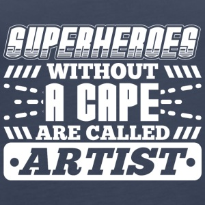 SUPERHEROES ARTIST - Women's Premium Tank Top