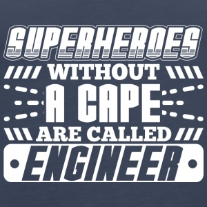 SUPERHEROES ENGINEER - Women's Premium Tank Top