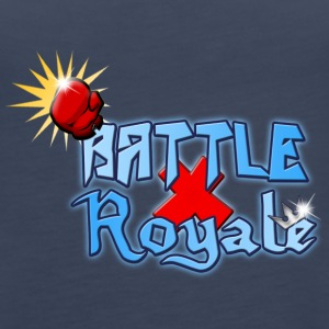 Battle Royale Krzyż Logo - Tank top damski Premium