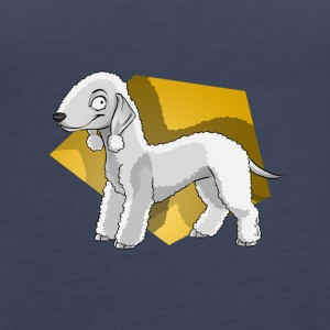 Bedlington Terrier - Frauen Premium Tank Top