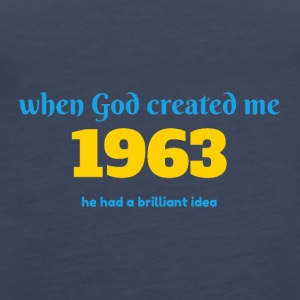 God idea 1963 - Women's Premium Tank Top