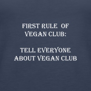 vegan Club - Premium singlet for kvinner