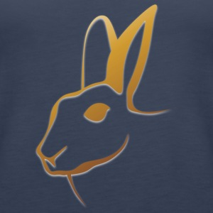 rabbit128 - Women's Premium Tank Top