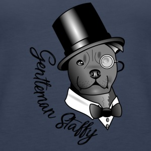 gentleman Staffy - Premium singlet for kvinner