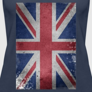 gb-drapeau britannique Union Jack English détruit UK - Débardeur Premium Femme