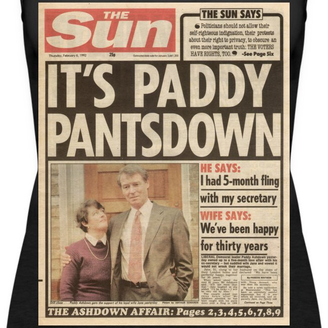 It s Paddy Pantsdown FP C