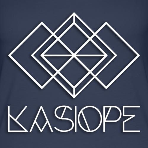 Logo Kasiope blanc - Débardeur Premium Femme