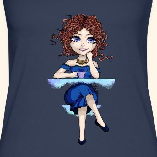 Blue Lady - Débardeur Premium Femme