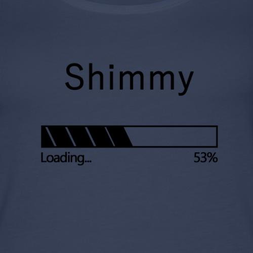 Shimmy Loading... Black