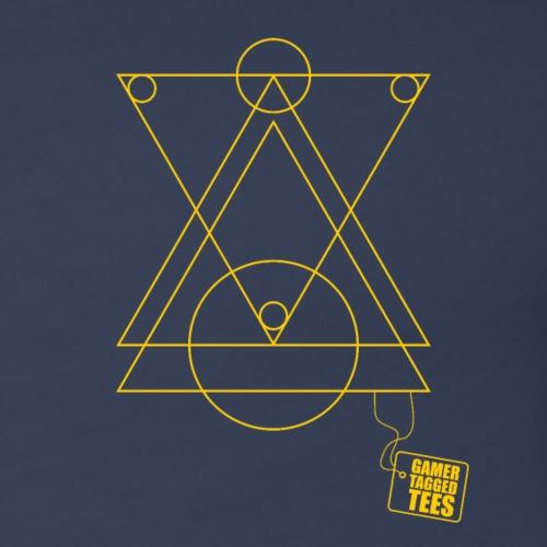 Geometry - Triangles Mixed Subtle - Women's Premium Tank Top