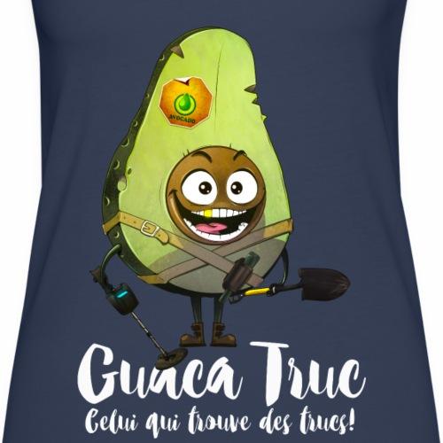 Guaca Truc - version blanche - Débardeur Premium Femme